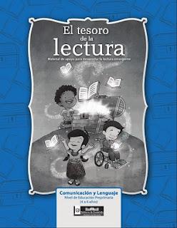 El tesoro de la  lectura - Material de apoyo para desarrollar la lectura emergente