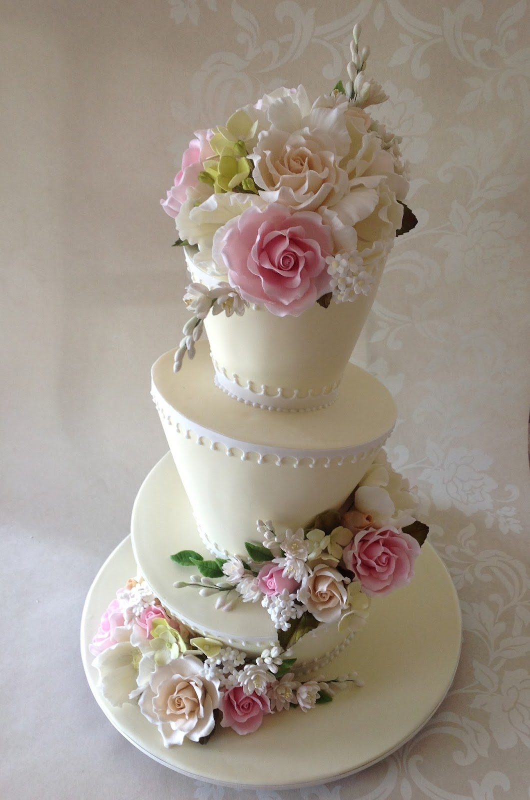 Heart Shaped Wedding Cake Designs