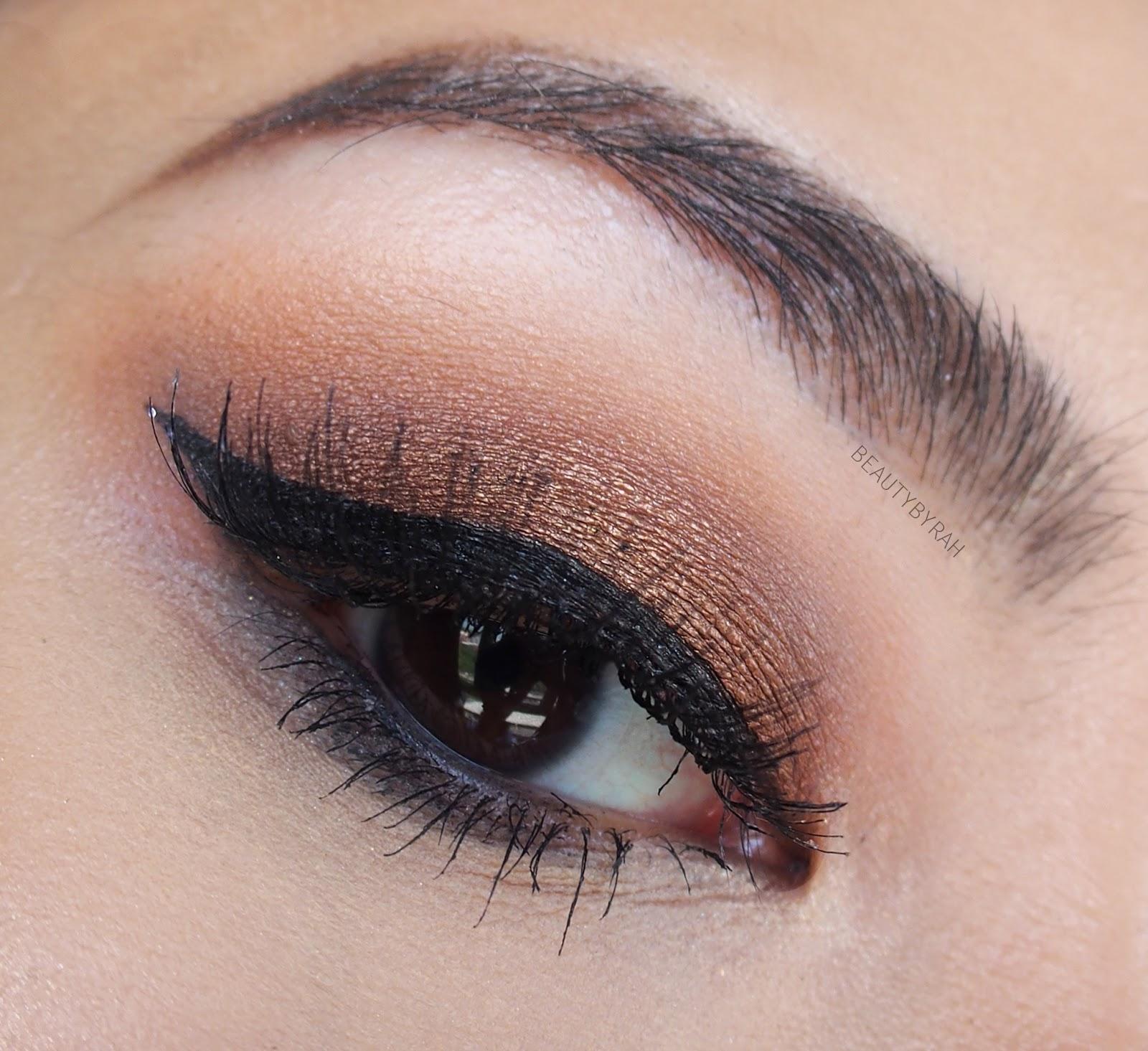 morphe 35O palette pictorial tutorial eyeshadow eye makeup look