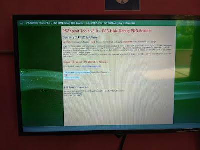 Mengaktifkan Debug Setting PS3 OFW Secara Offline 3