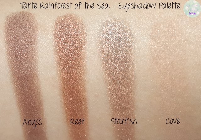 Tarte Rainforest of the Sea Eyeshadow Palette | Kat Stays Polished