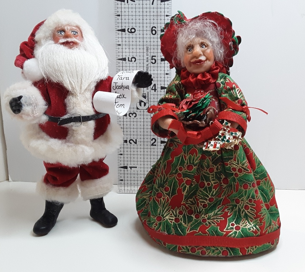 Mr. Mrs. Claus   SOLD