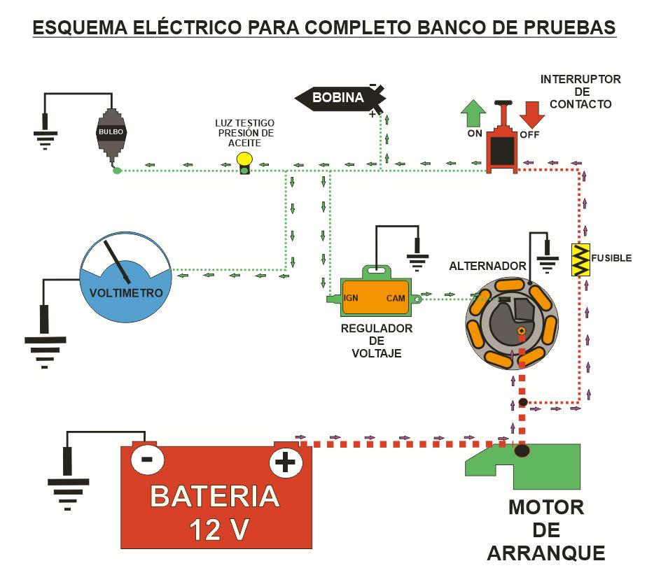 Circuito Electrico Basico : Clásicos citroën personal esquema circuito
