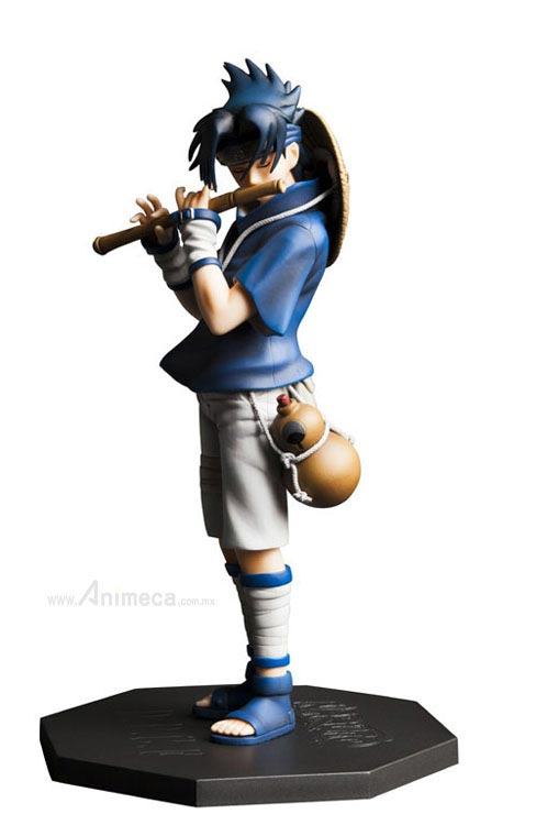 FIGURE SASUKE UCHIHA DOOR PAINTING COLLECTION FIGURE NARUTO PLEX
