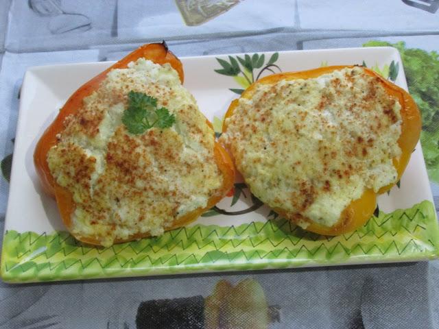 papryki zapiekane z serem