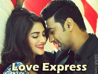 Love Express Bengali Movie Dev & Nusrat Jahan Poster