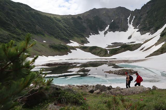 камчатка поход на голубые озера