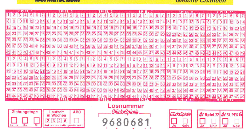 Lotto 6 Aus 49 Germania