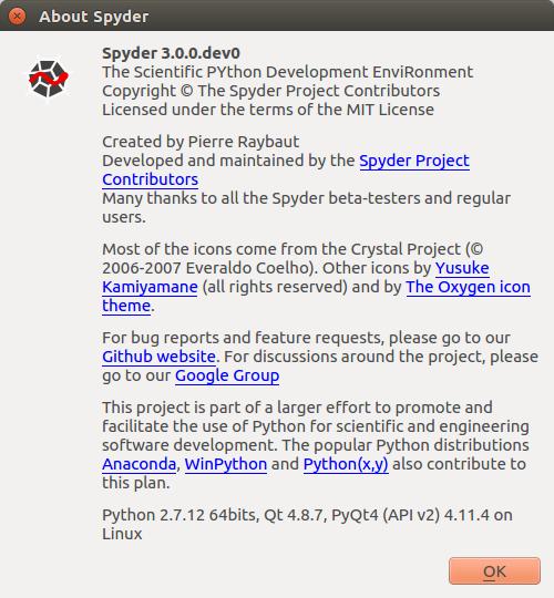 How to install Spyder 3 0 developer version