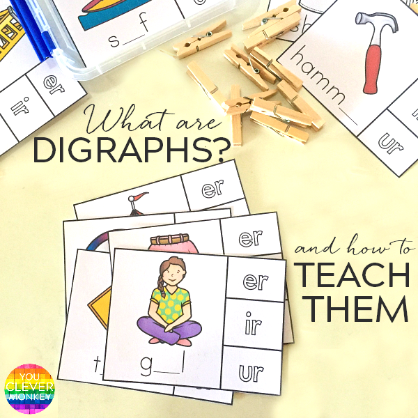 What are digraphs and how to teach them | you clever monkey