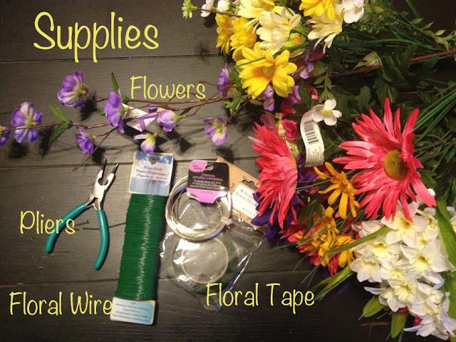 DIY Flower Crown Supplies