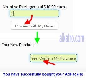 cara buy position bin 'cara buy ads Packages profitclicking'