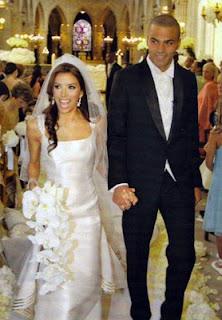 Eva Longoria Wedding Gown
