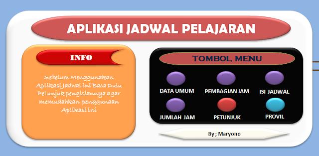 Download Aplikasi Jadwal Pelajaran Otomatis Anti Bentrok Versi 2017-2018