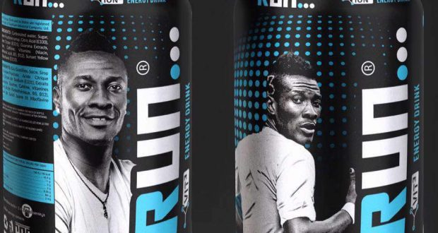 Asamoah Gyan unveils energy drink