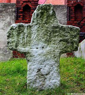 Krzyż kamienny, pokutny, pojednania, Jaksonów gm. Żórawina pow. wrocławski