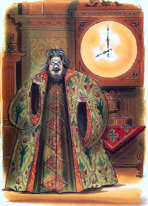 a Maurice Vellekoop illustration of opera