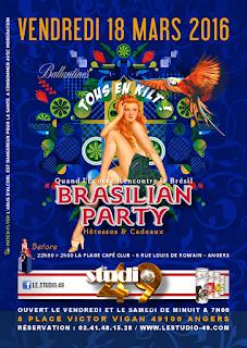 Brasilian Party à Angers