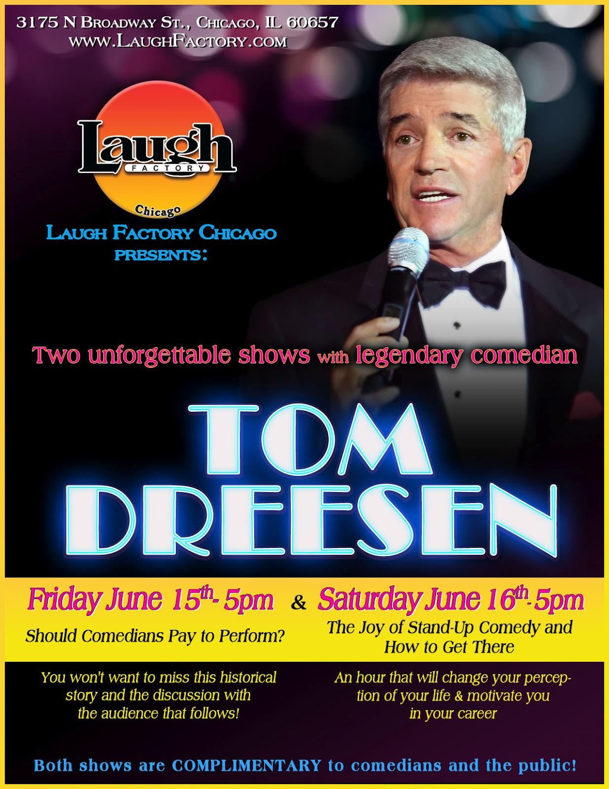 Laugh Factory Event Schedule