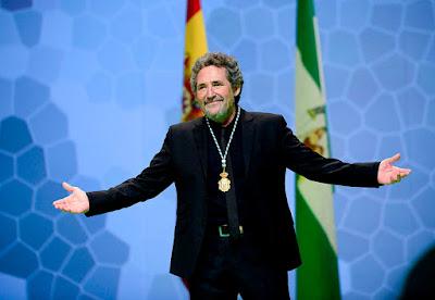 Miguel Ríos pidiendo disculpas por no poder actuar en Beceite, Beseit