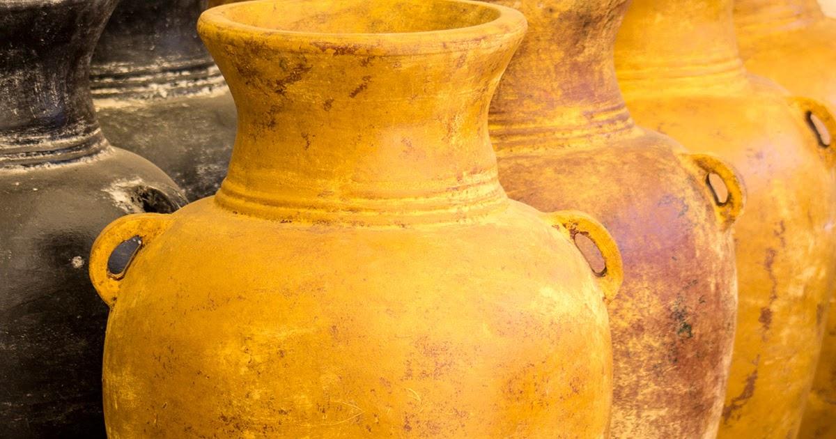 Amadera meuble et d coration le charme thique du mexique authentique jarre de jardin amphore - Jarre deco jardin lyon ...