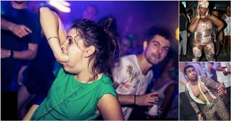 Embarrassing Nightclub Pictures - Hubviral