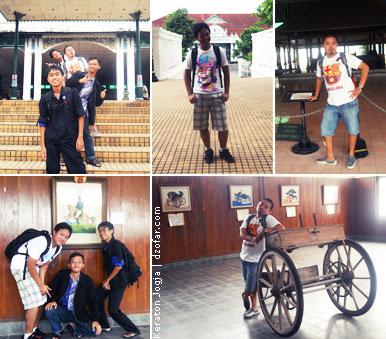 Photo photo di keraton Jogja