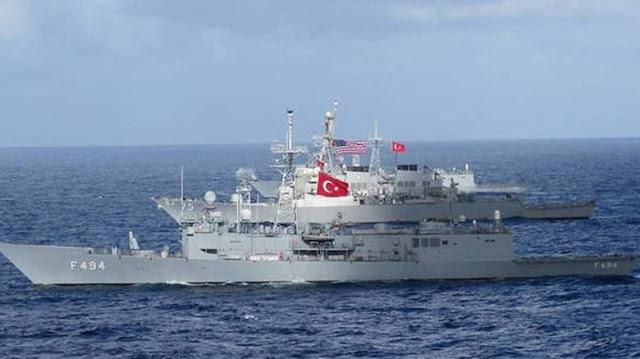 Το ψέμα των τούρκων για κοινή ναυτική άσκηση με τις ΗΠΑ