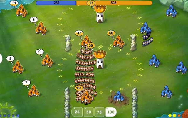 Mushroom Wars Space - Game Strategi Android Offline Terbaik.jpg