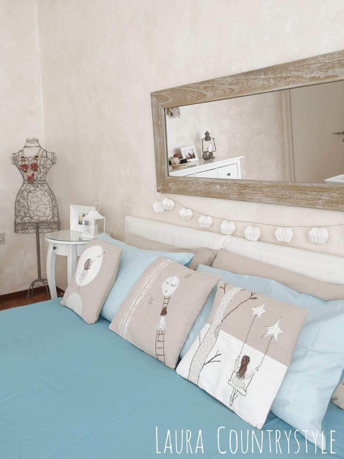 Laura country style: My Home: nuovo look alla mia camera da ...