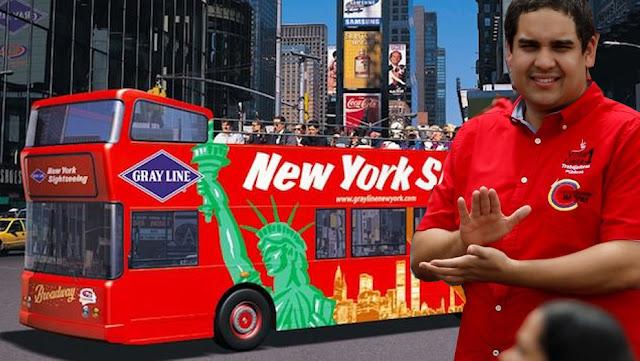 Guia para NIcolasito Maduro de cómo llegar de Nueva York a Washington