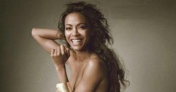 Noticias Sc Actriz Dominicana Zoe Saldaña Posa Desnuda