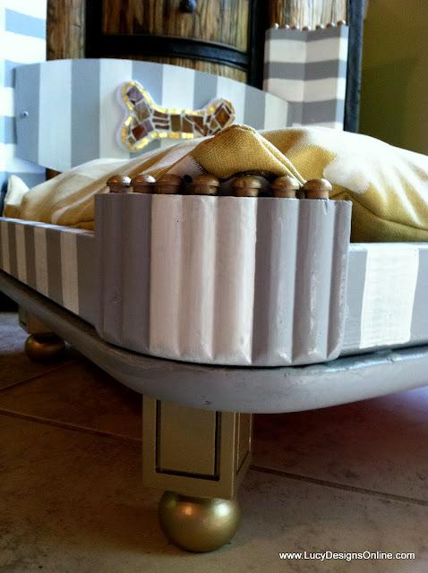 glamorous dog bed