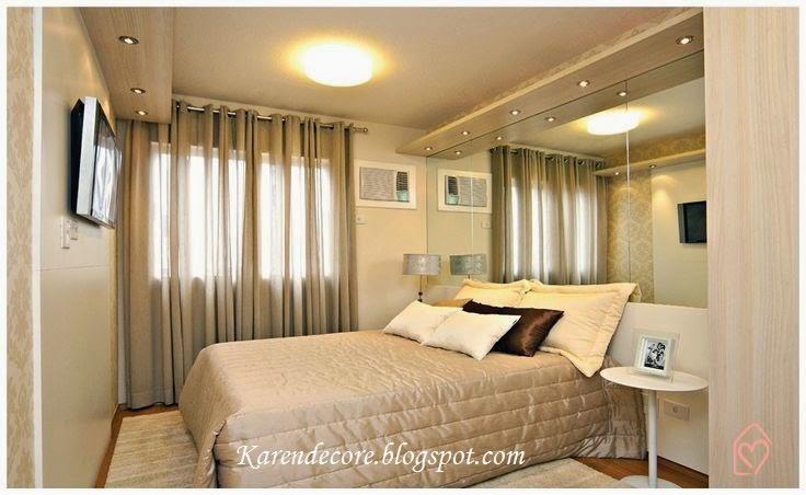 decoracao de apartamentos pequenos quarto casal: Corpo E Seu Espaço: Idéias de Como Decorar Quartos de Casal Pequenos