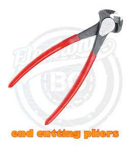 Proper use of end cutting pliers