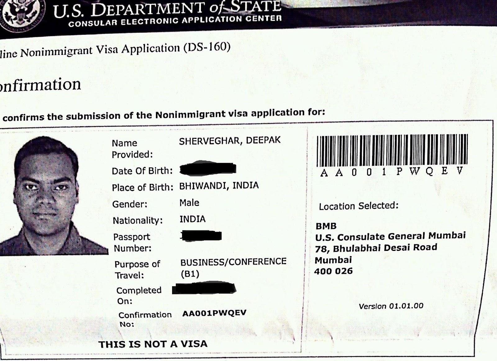 Reschedule visa appointment us consulate mumbai case