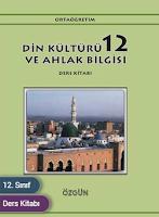 12. Sınıf Özgün Yayınları Din Kültürü Ders Kitabı Cevapları