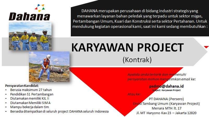 Lowongan Kerja Terbaru  PT DAHANA (Persero)