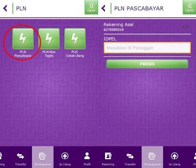 Cara Bayar Tagihan PLN Lewat Mobile Banking Muamalat