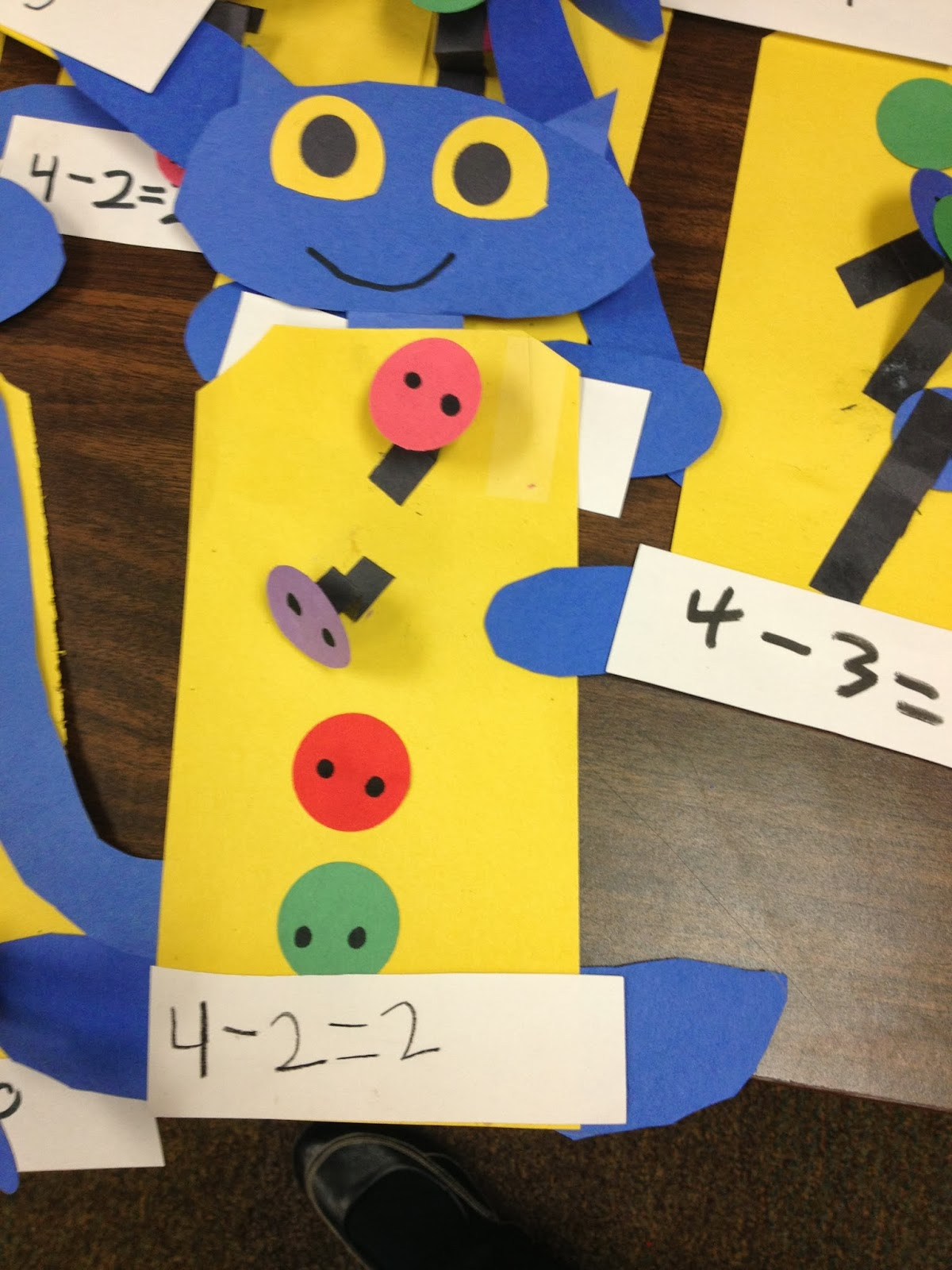 Pete The Cat Worksheet Subtration