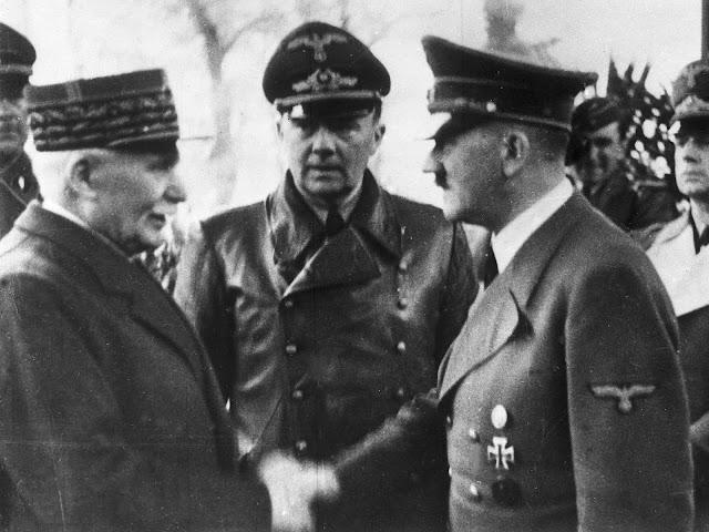El encuentro entre Pétain y Hitler