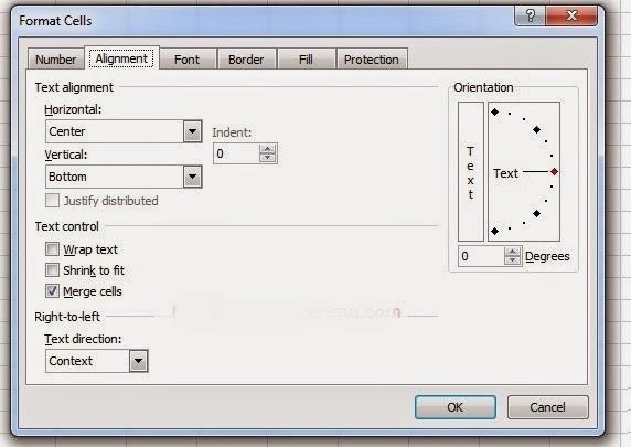 Pengenalan Ms. Excel (Memanfaatkan fungsi format untuk ...