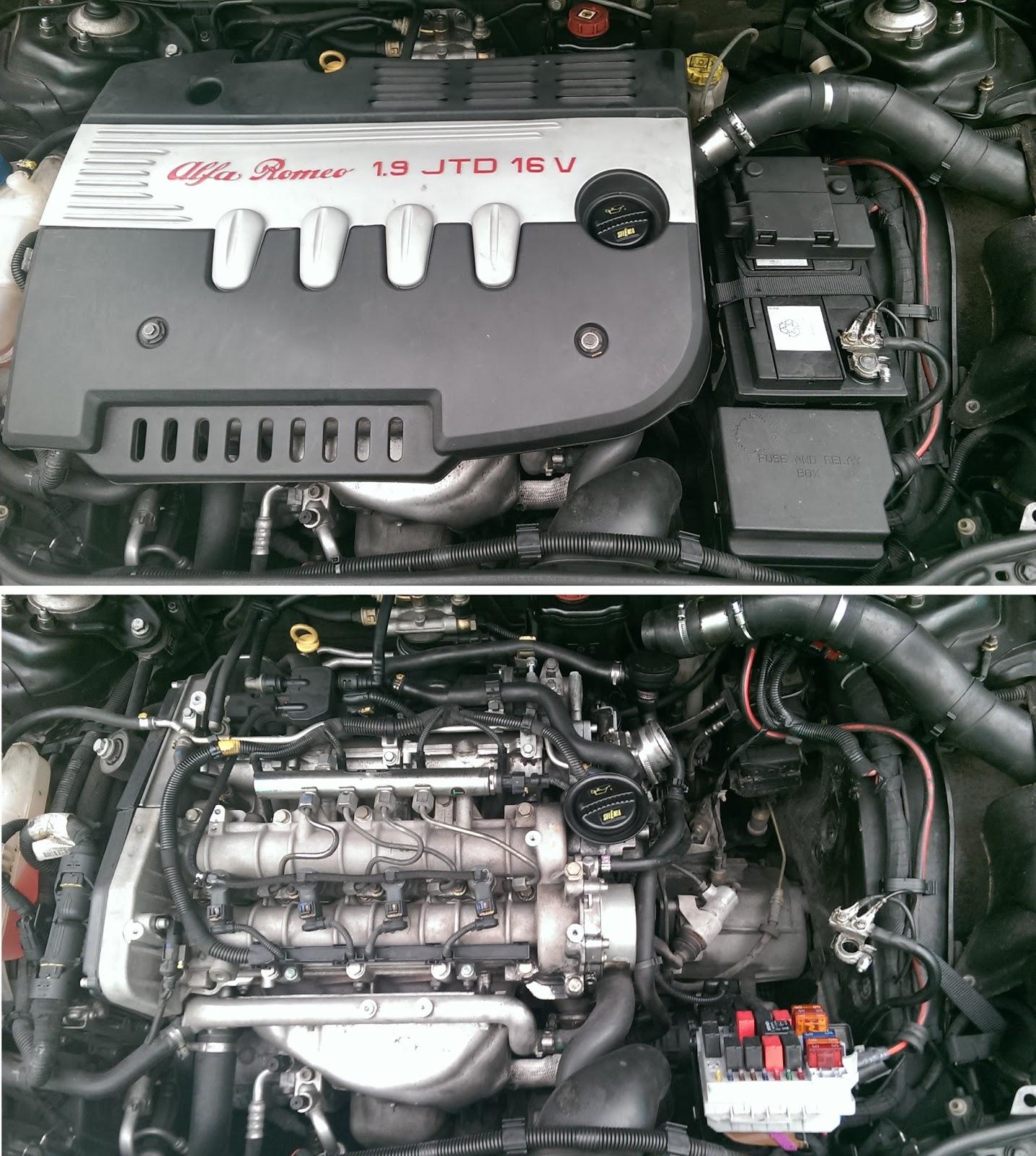 sostituzione filtro aria 159 1.9 jtdm - Alfa Romeo 159 ...