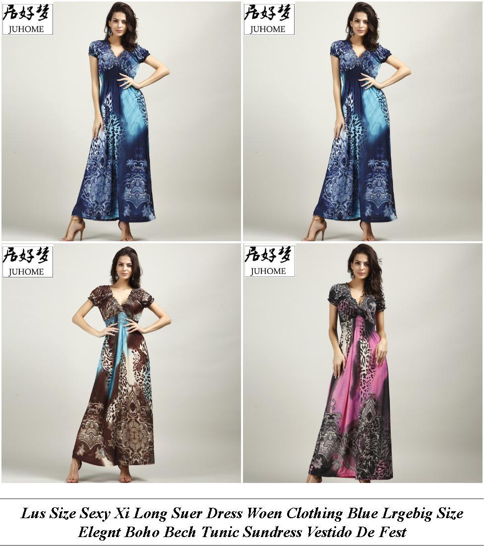 Junior Prom Dresses - Next Sale Womens - Denim Dress - Cheap Fashion Clothes