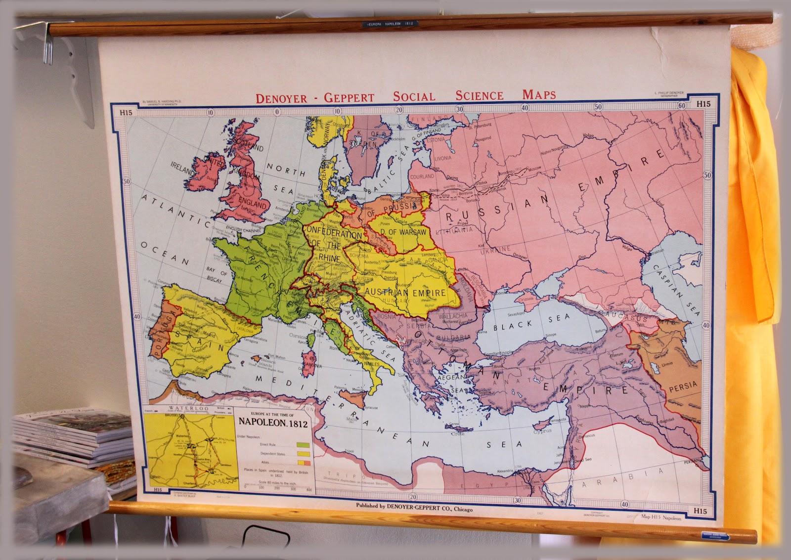 skole kart Den Grønne baljen: Et gammelt skole kart kan bli ditt !