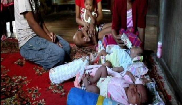 Pelik!.. Wanita Bersalin Lagi Selepas 2 Bulan Lahir Anak Pertama