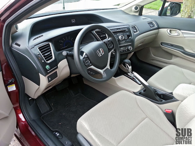 2013 Honda Civic EX interior