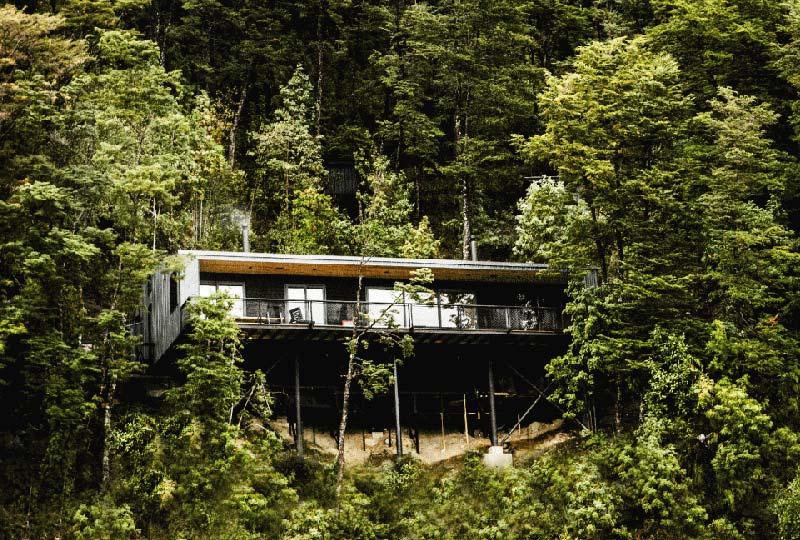 Casa vacanze costruita con materiali a km 0