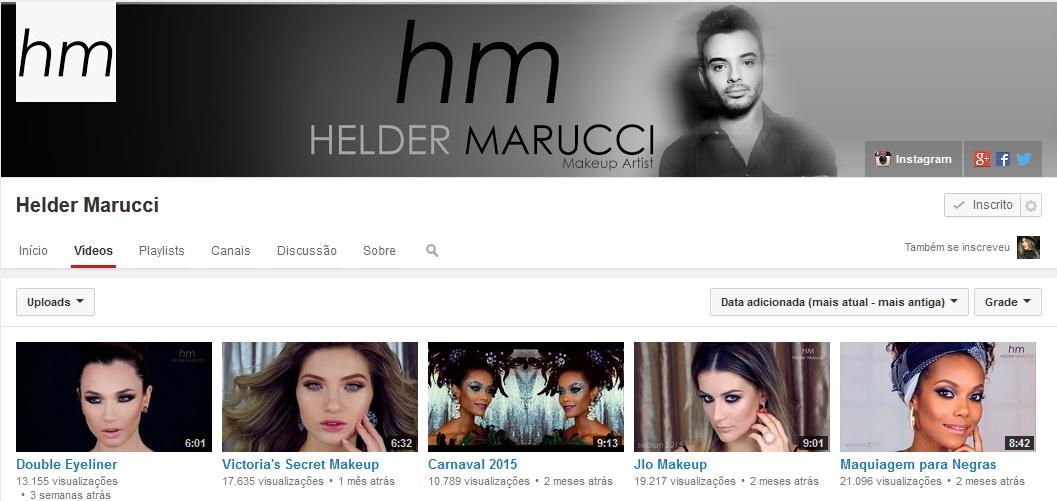 Helder Marucci- Canal Youtube