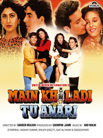 Main Khiladi Tu Anari 1994 Hindi 720p DVDRip Full Movie Download
